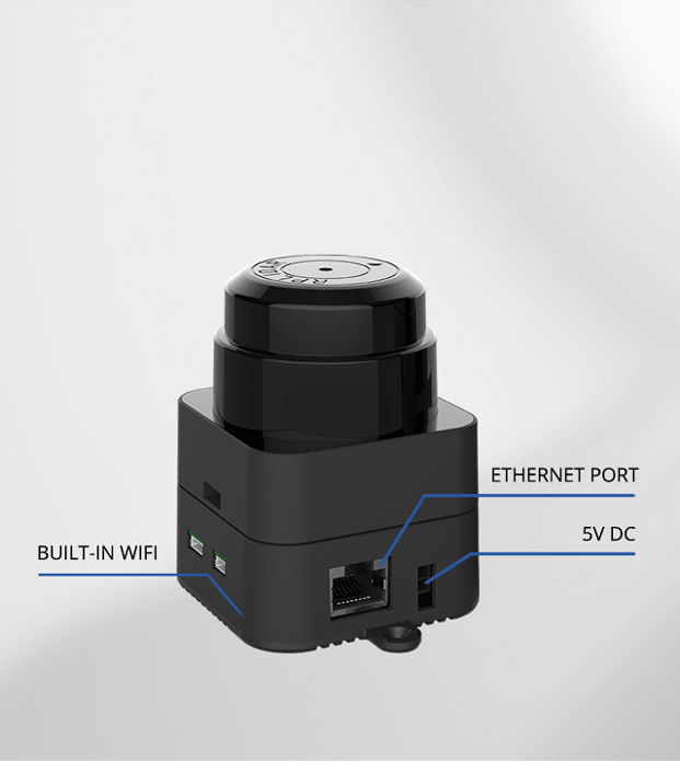 Slamtec Mapper Built-in WIFI, Ethernet port, Easy communication